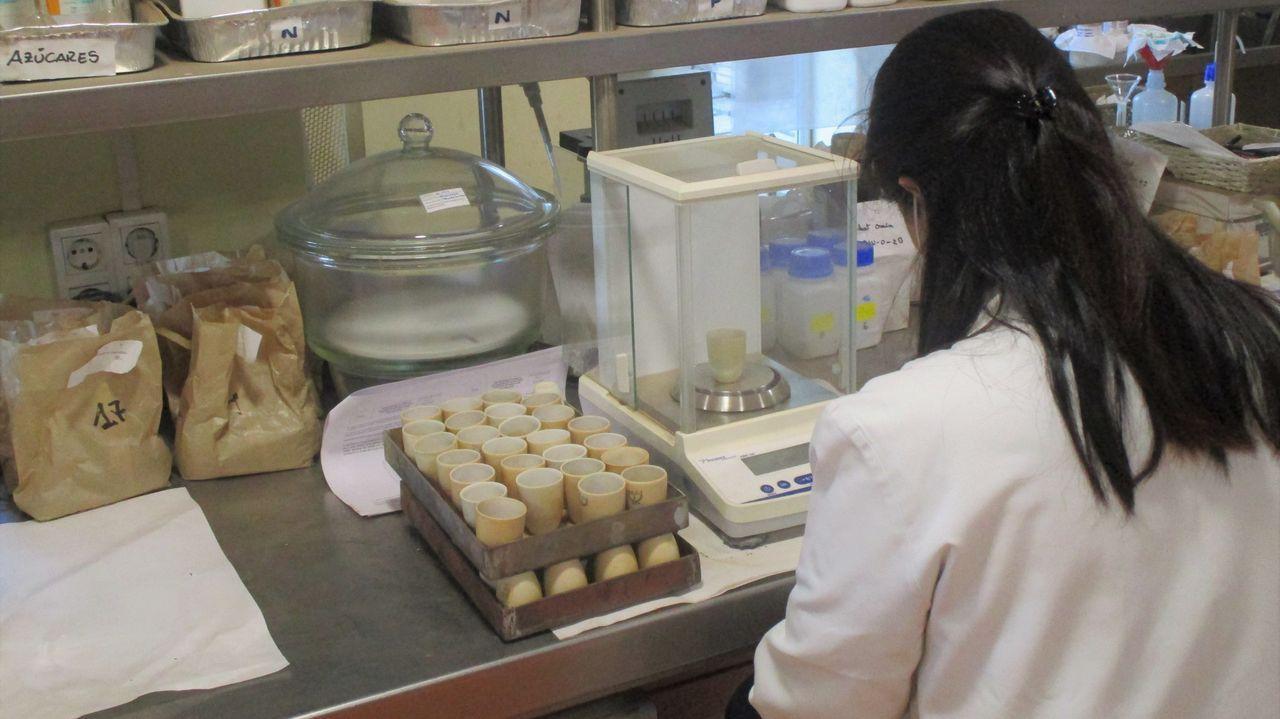 Laboratorio del Inorde en Xinzo