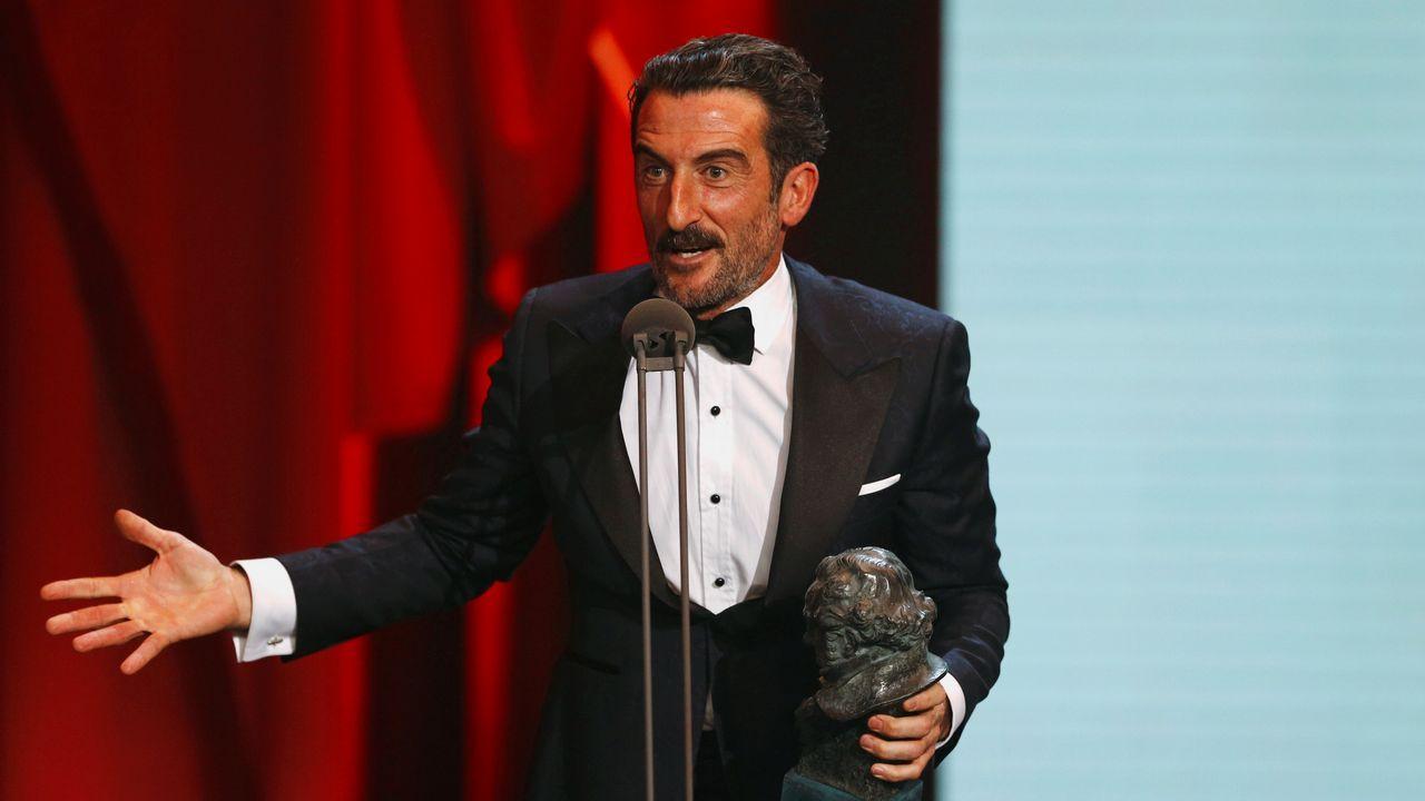Zahera, ganador del Goya a mejor secundario