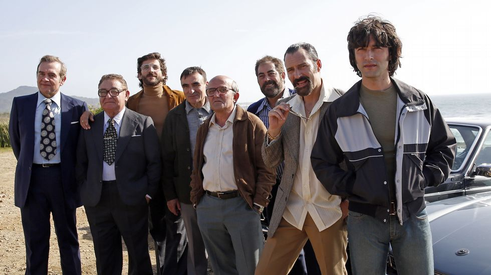 «Fariña», la narcoserie sobre los clanes gallegos de la droga.Reivindicación social a la llegada del «tren negro» de la Semana Negra