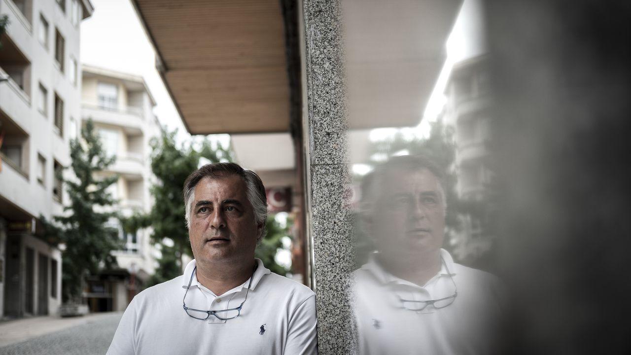 José Antonio Álvarez Caride, presidente de FAPA Ourense