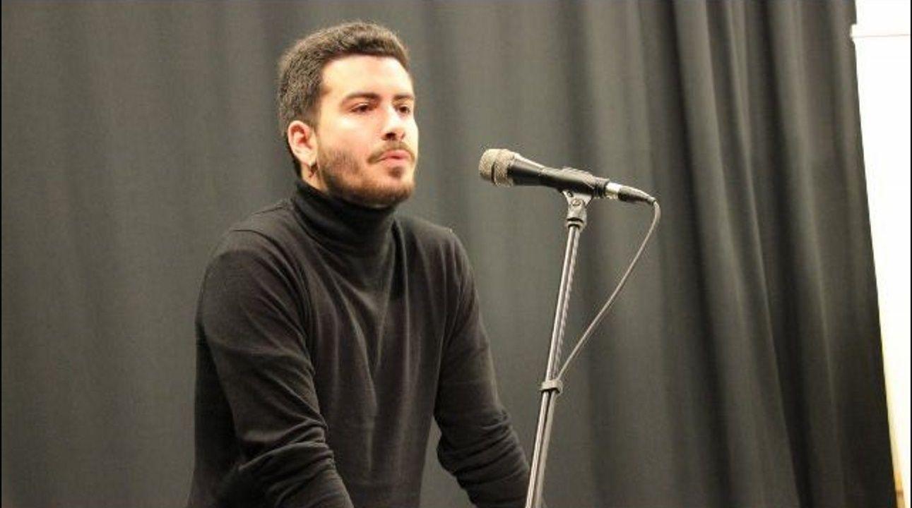 Daniel Castro, número 2  del BNG por Lugo. Ribadeo, 1996. Estudiante de filología y miembro de la dirección de Galiza Nova.