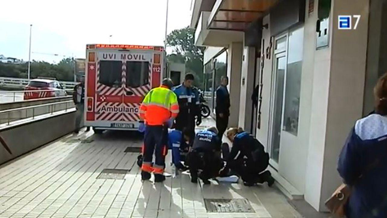 Una pelea en un bar de Gijón acaba con dos heridos