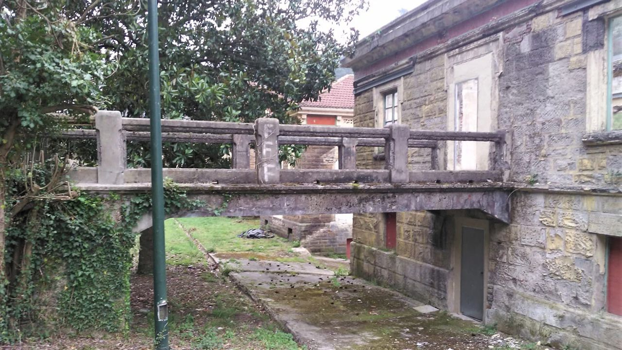 Sanatorio de Bustiello, en Mieres