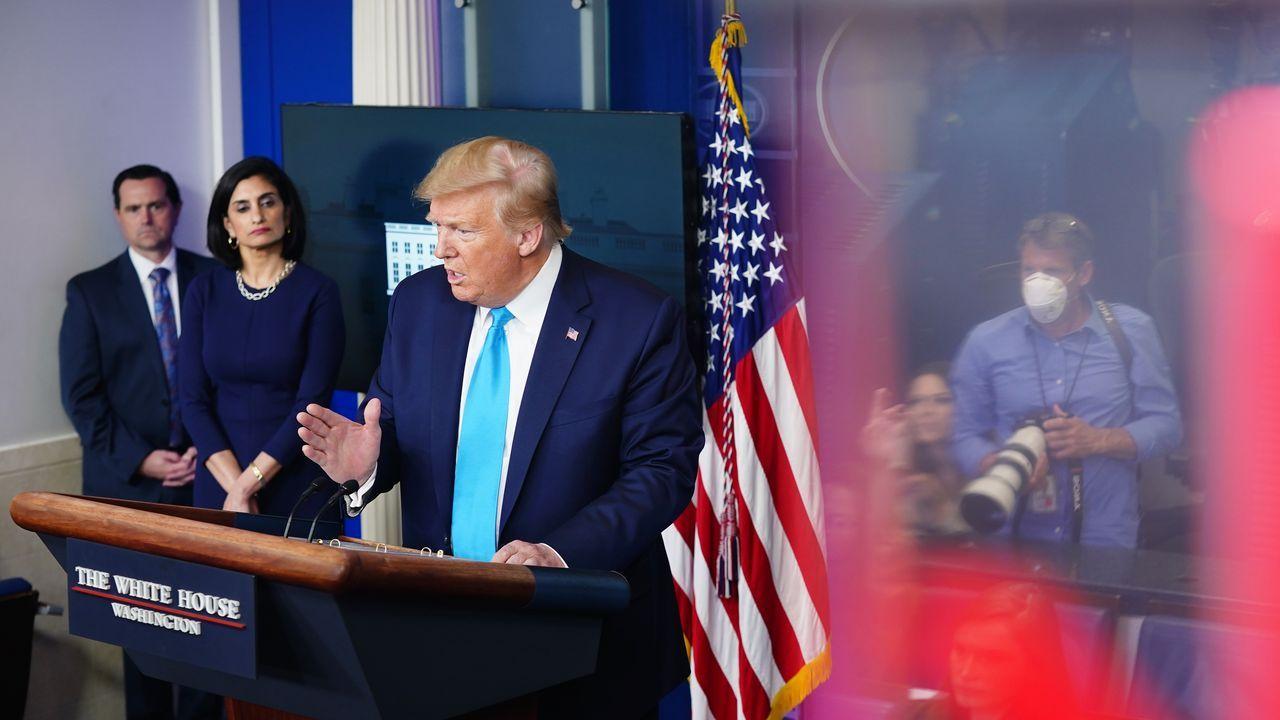 Trump amenaza con quitar las aportaciones de EE.UU. a la OMS