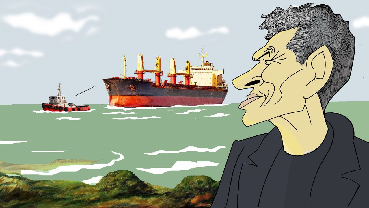 El homenaje por el 25.º aniversario del Dispositivo de Separación de Tráfico Marítimo