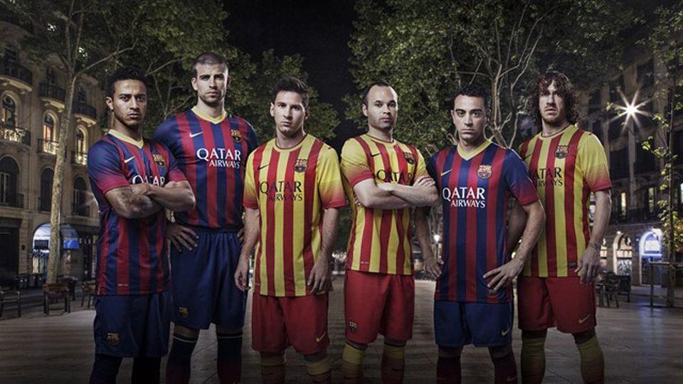 Nueva equipación del Barça para la temporada 2013-14