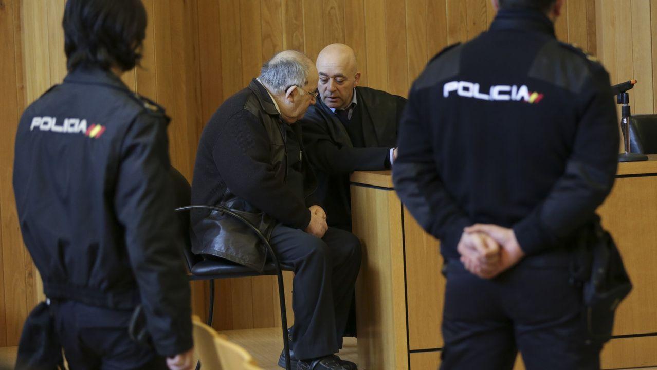 Vista del juicio a Juan Fraga en la Audiencia Provincial