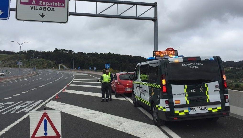La Guardia Civil intercepta a un conductor reincidente al que en solo una semana ha denunciado por infracciones que acumulan 28 puntos del carné
