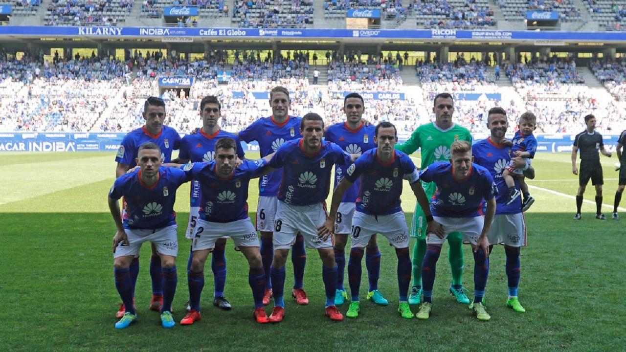 Alineacion Real Oviedo Sevilla Atletico Carlos Tartiere.Alineacion del Real Oviedo frente al Sevilla Atletico