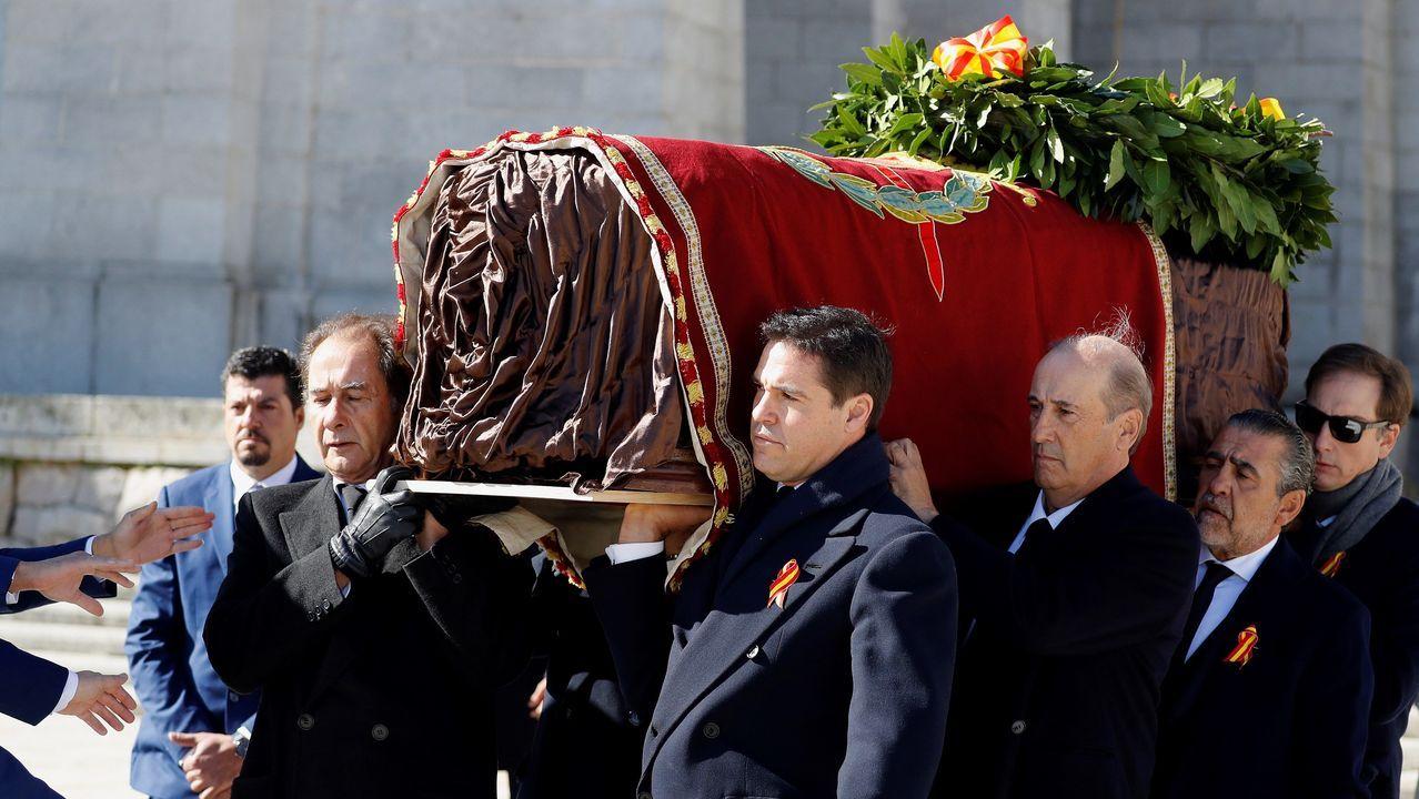 Las imágenes de la exhumación de Franco