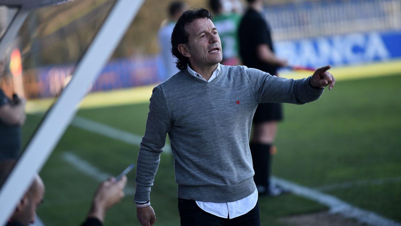 Tejera Real Oviedo Numancia Carlos Tartiere.José Ángel Ziganda en El Requexón