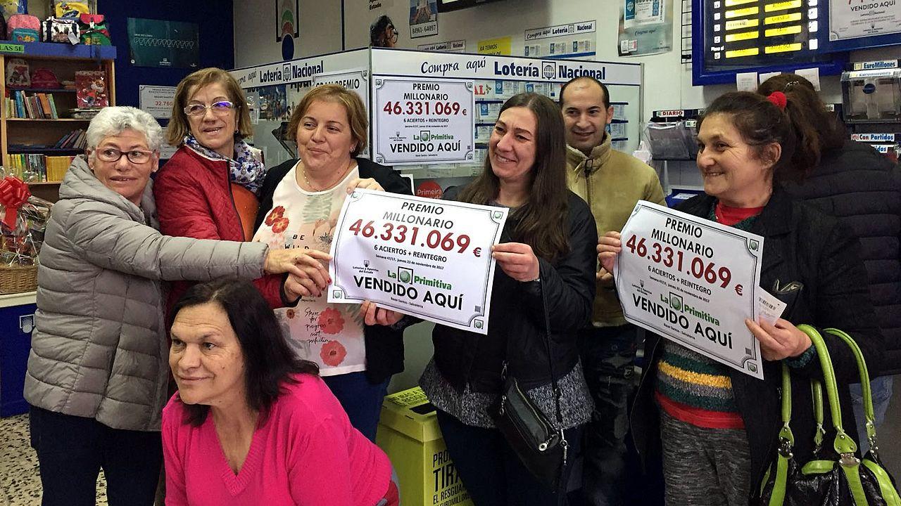 Gritos de alegría al comprobar que los 46 millones de Salvaterra se quedaron cerca