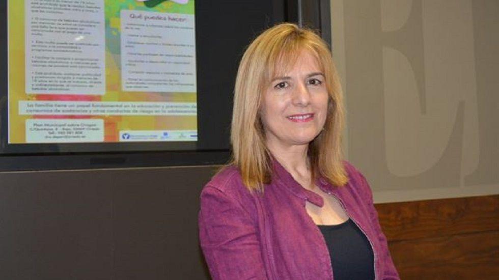 Marisa Ponga, concejala de Igualdad del Ayuntamiento de Oviedo