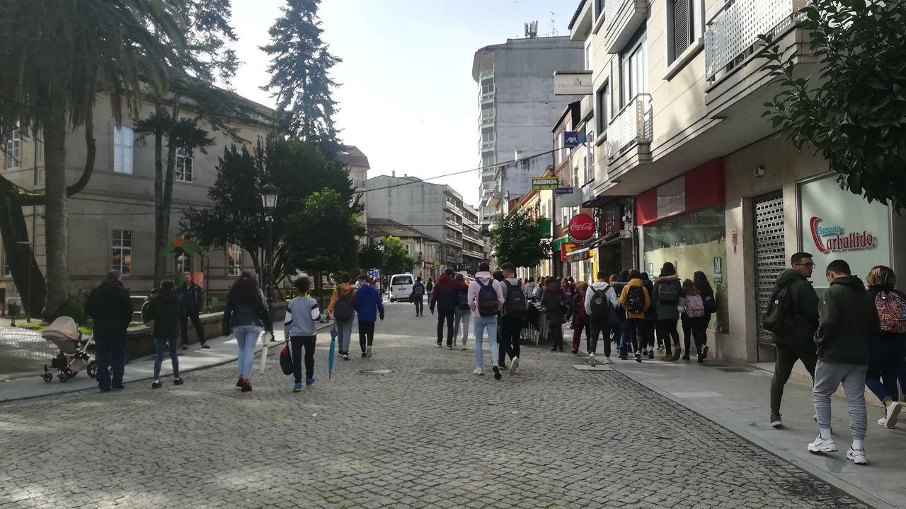 Tensión en la Junquera por el desalojo de los independentistas