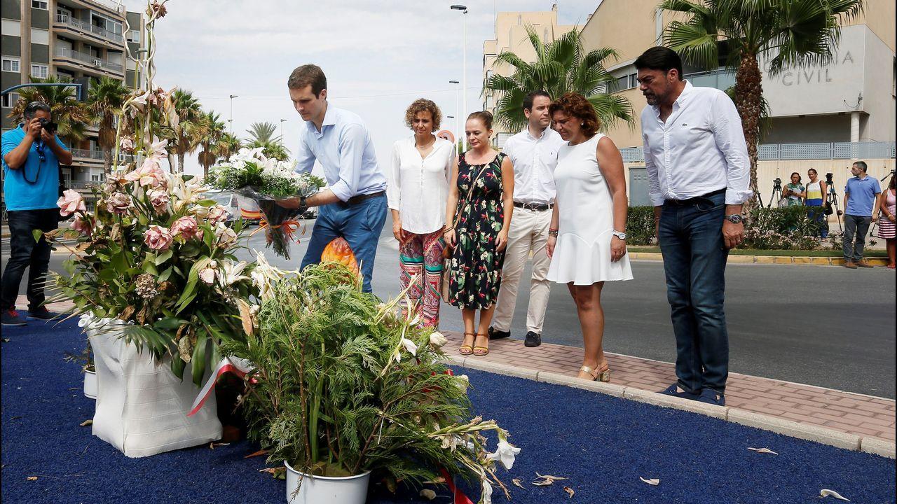 Visita de Angela Merkel a España para reunirse con Pedro Sánchez.Casado rindió homenaje en Santa Pola a las dos víctimas de un atentado de ETA en 2002