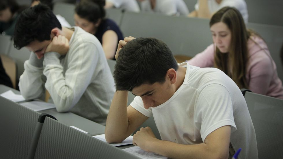 Los alumnos de sexto de Primaria realizarán las pruebas a partir del miércoles próximo.
