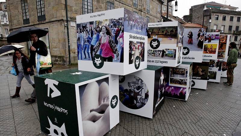 El Concurso dos Maios tendrá lugar como es tradicional en la praza da Ferrería.