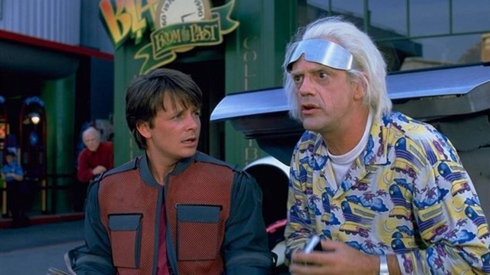 Michael J. Fox en Regreso al futuro