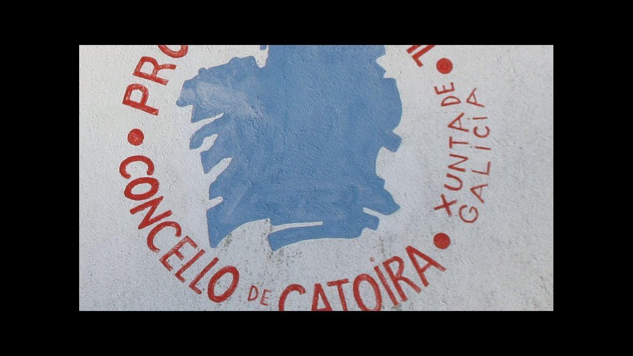 Mucho frío en la Costa da Morte.Cursos de formación a miembros de Protección Civil en Gijón