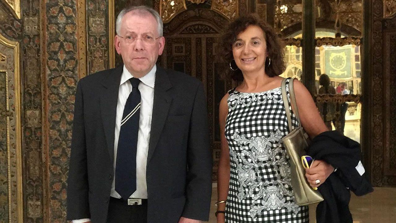 María José García tomó el relevo de José Luis Rodríguez Dacal al frente de la Federación de Farmacias de Galicia en el año 2017