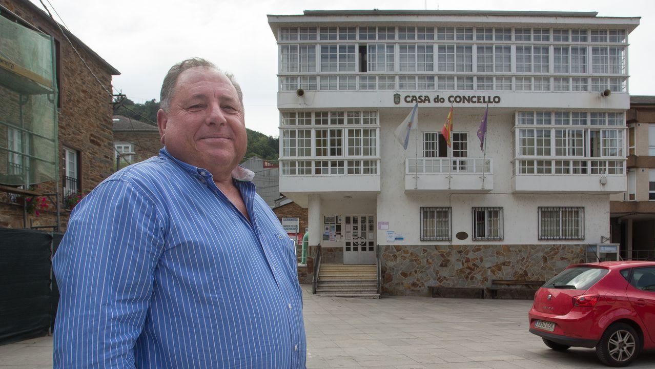 Marcos Sousa, vecino de Cartelle, sintió el temblor de tierra en Celanova