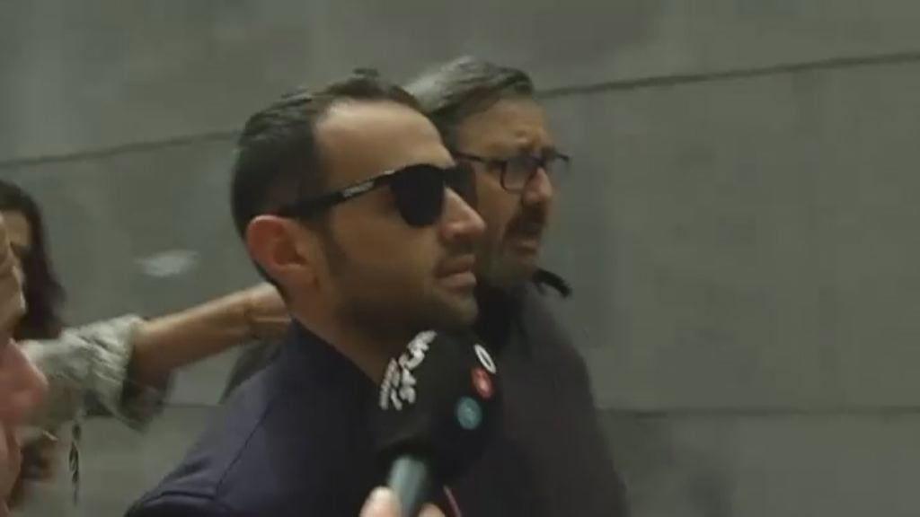 Hector Barberá condenado a 22 días de trabajos a la comunidad y un año sin carné.Andreas Pérez y Raúl Romero, director del equipo Reale Avintia