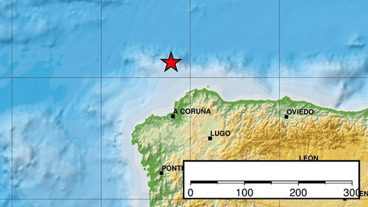 El verdadero centro de Galicia está en Antas de Ulla.Daños producidos en Becerreá (Lugo) por un terremoto de magnitud 4,6 el 24 de diciembre de 1995