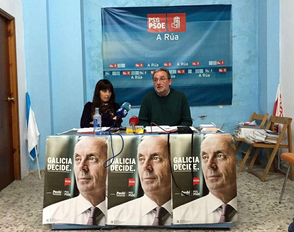 María Albert y Fernández Gudiña gobernarán en A Rúa.