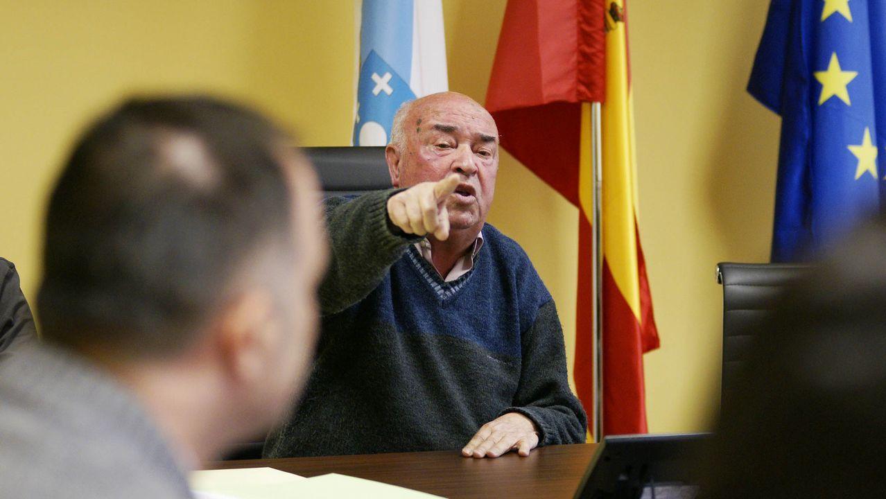 Senén Pousa es alcalde de Beade desde 1974