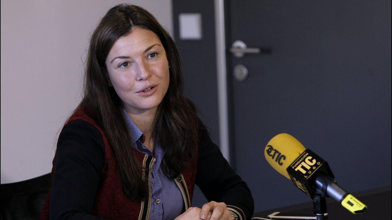 Mayra García, alcaldesa socialista de Trabada