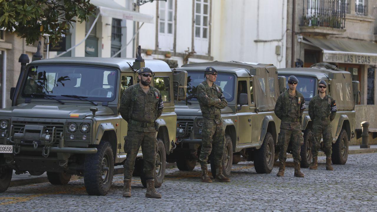 La orden de Interior autoriza el paso de vehículos del Ejército en el caso de un cierre de carreteras