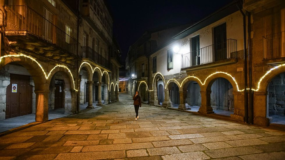 Río Miño a su paso por Ourense.En Ribadavia la hostelería podrá abrir hasta las cinco de la tarde