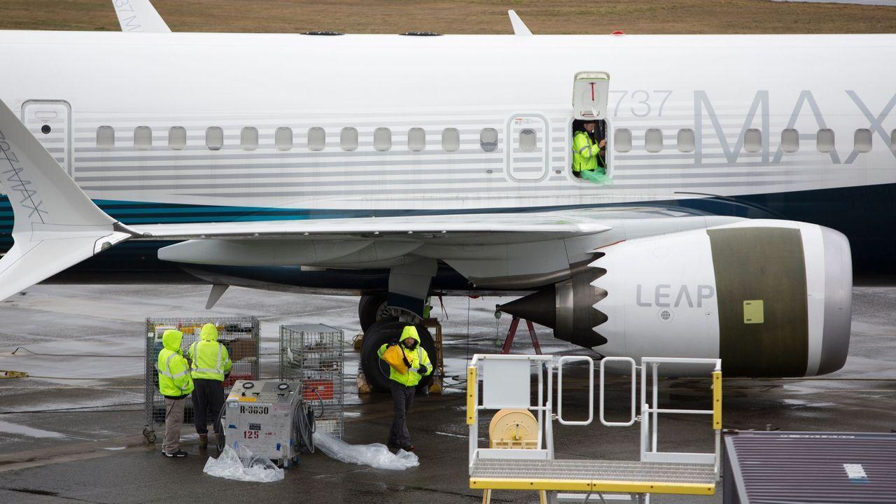 Ya estan en España 15 de los inmigrantes rescatados por el «Open Arms».Vista aérea de la fábrica de Boing en Renton