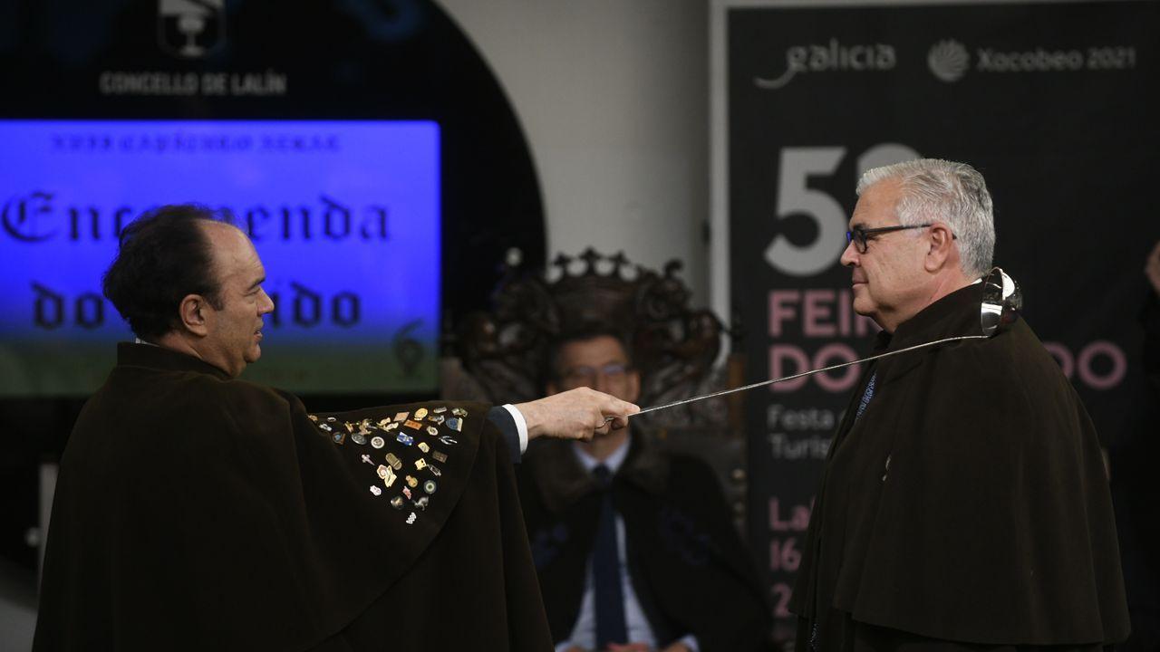 El experto en nutrición Gregorio Varela fue otro de los protagonistas de la ceremonia de los comendadores