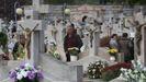 Imagen de archivo, en los cementerios de Ourense