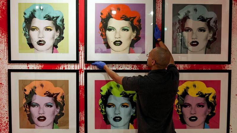 La mayor retrospectiva «no autorizada» de Banksy.Kate Moss y Justin Bieber