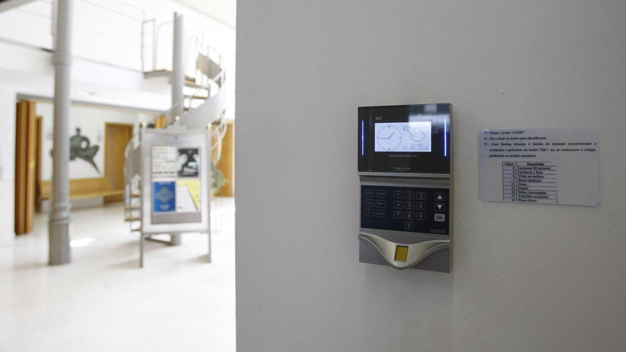 La Diputación implantó un sistema basado en la huella dactilar en el año 2014