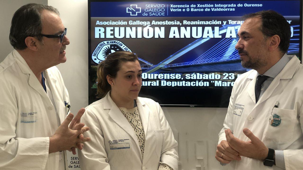 Miembros de la unidad de esclerosis múltiple del Hospital Álvaro Cunqueiro