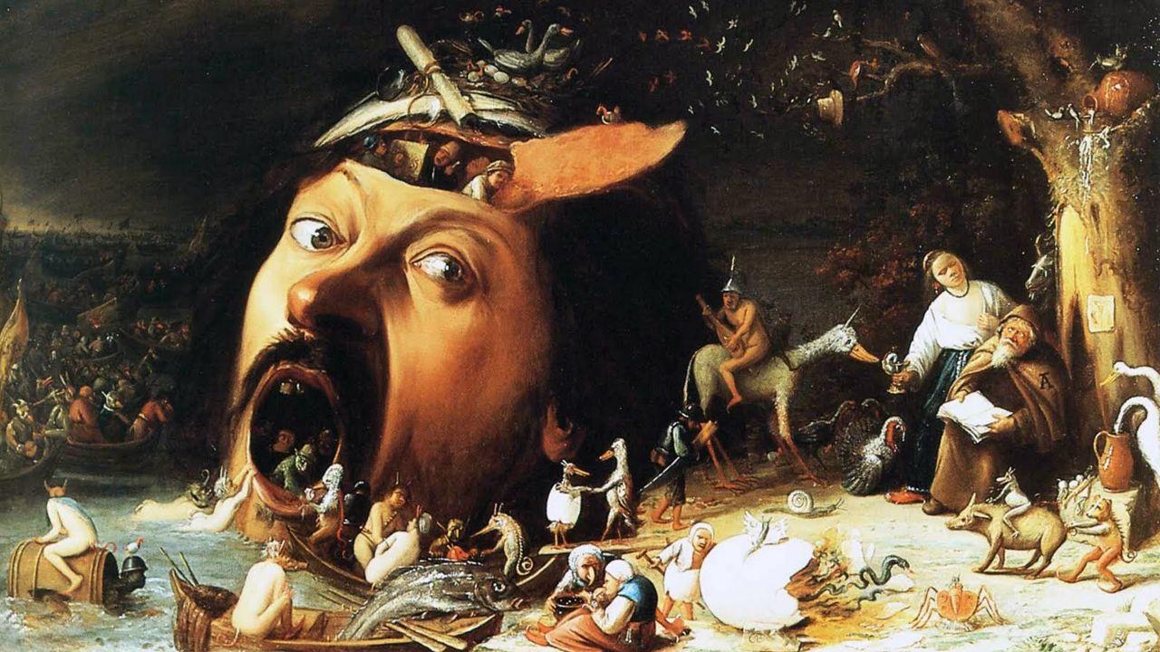 | EFE.La tentación de San Antonio, de Joos van Craesbeeck