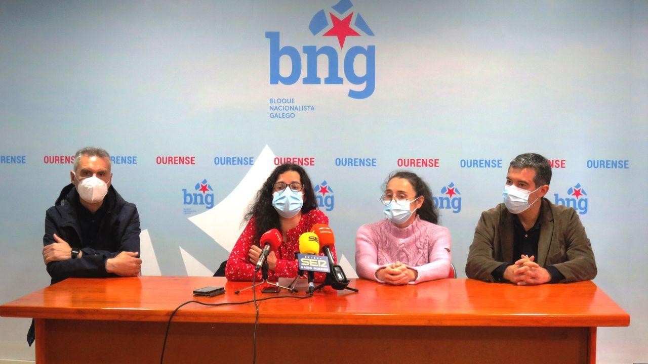 Rueda de prensa del BNG este jueves