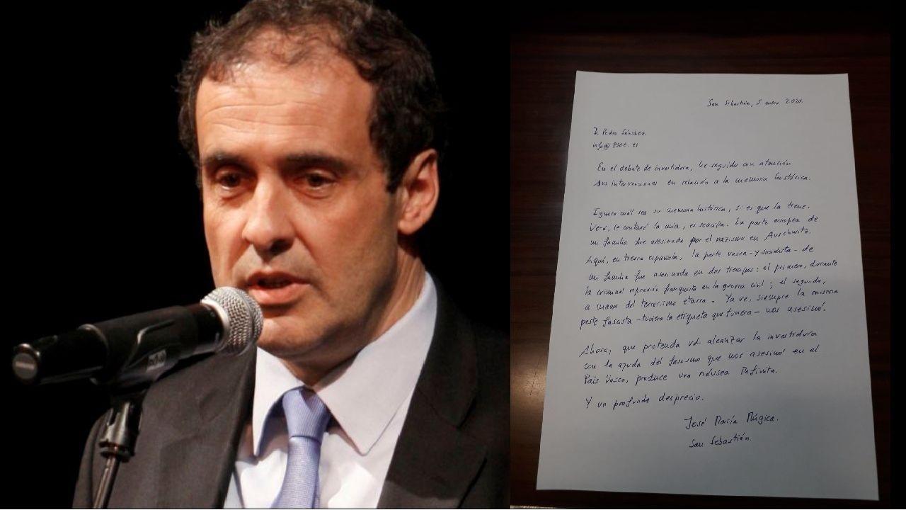 Carlos Iturgaiz, candidato de la coalición de PP y Cs a las elecciones vascas