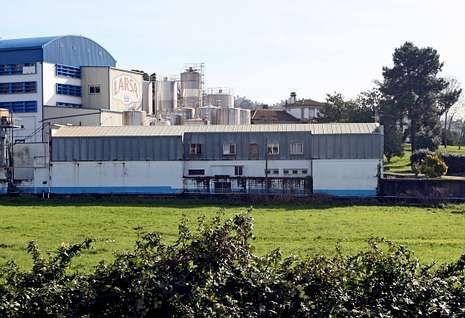 La fábrica de Larsa en As Corolinas, en Vilagarcía, va a ser ampliada de forma inminente.