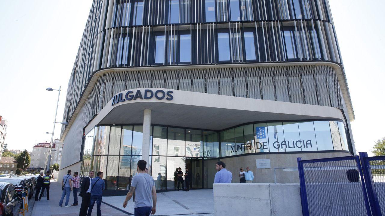 Nuevo edificio de los juzgados de Pontevedra