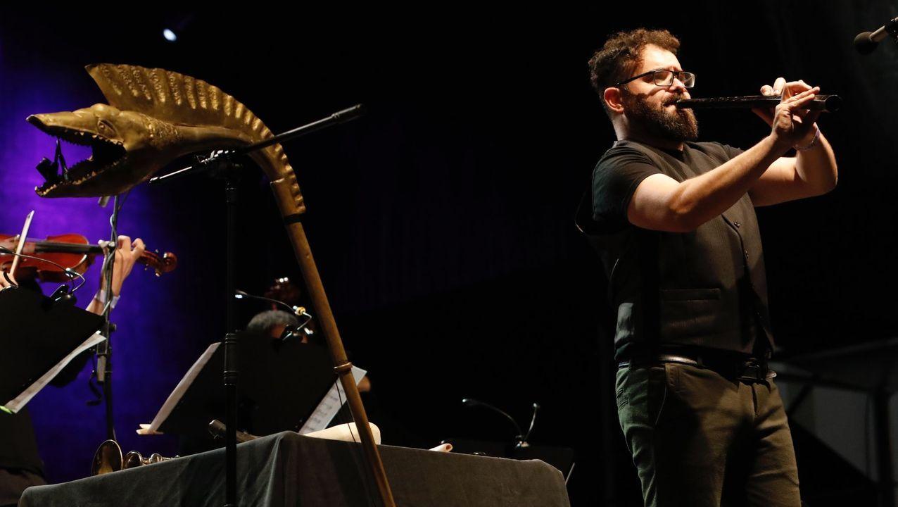Abraham Cupeiro interpretará el kárnyx y el cornu