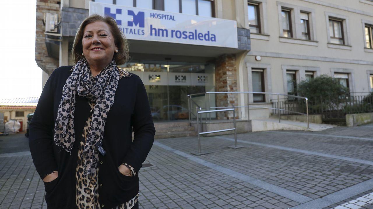 Presentación de los candidatos a alcaldes del PP en las 7 ciudades.Estado de una vivienda en Santiago de Compostela