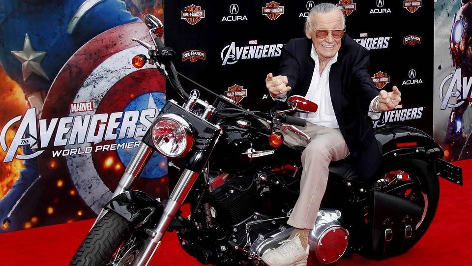 Stan Lee, durante la promoción de los Vengadores