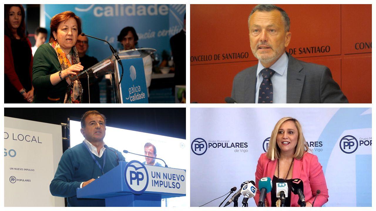 La vida de los 11 exconselleiros de Feijoo.La ministra de Hacienda, María Jesús Montero, y el presidente de la Xunta, Alberto Núñez Feijoo,  hace un año en Madrid