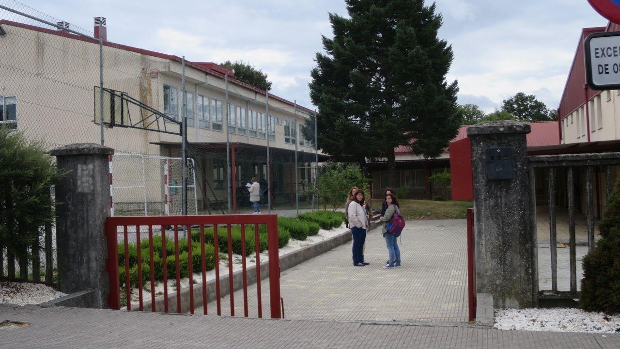 Exterior del instituto Val do Asma, en una imagen de archivo