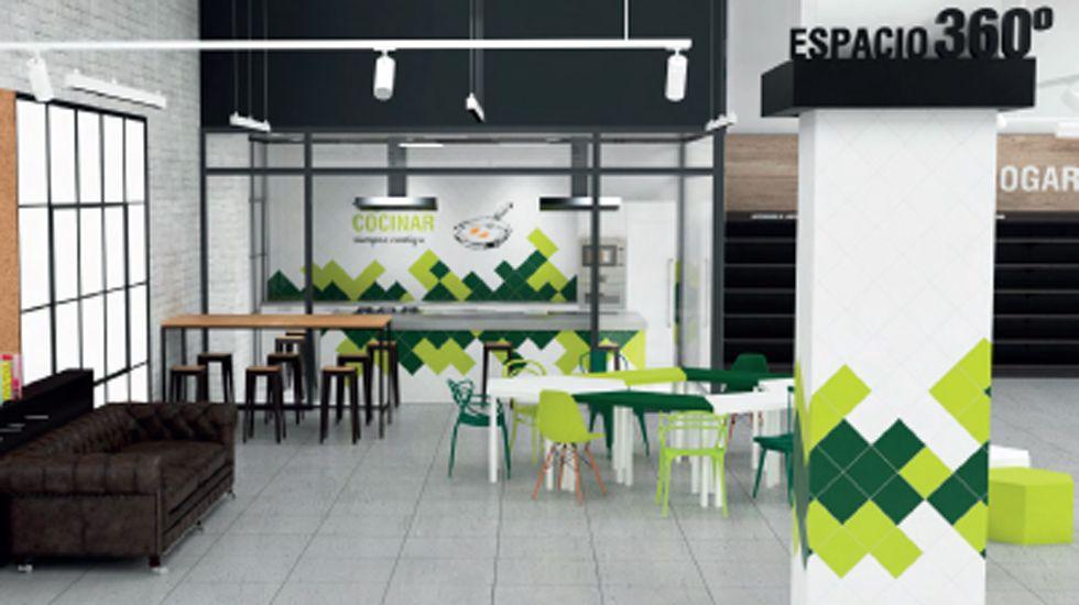 Espacio diseñado para albergar el nuevo Masymas de Intu Asturias