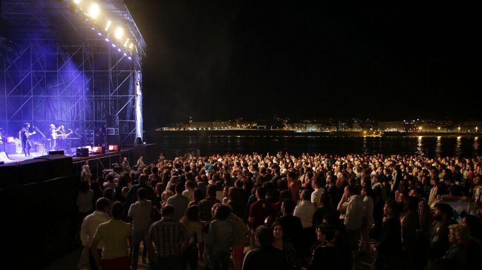 Concierto de Sidonie en el Noroeste Pop Rock 2015